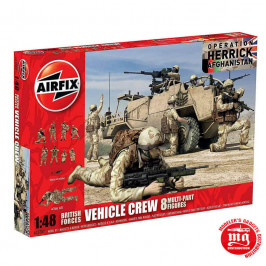 BRITISH FORCES VEHICLE CREW OPERATION HERRICK AFGHANISTAN AIRFIX A03702