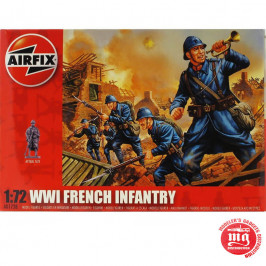 WWI FRENCH INFANTRY AIRFIX A01728