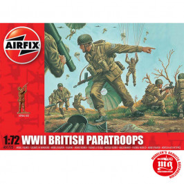 WWII BRITISH PARATROOPS AIRFIX A01723