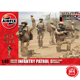 BRITISH FORCES INFANTRY PATROL OPERATION HERRICK AFGHANISTAN AIRFIX A03701