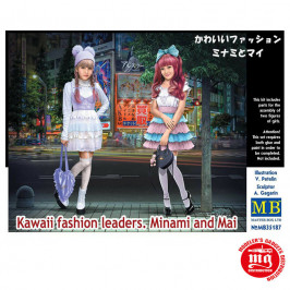 KAWAII FASHION LEADERS MINAMI AND MAI MASTER BOX MB35187
