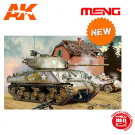 US MEDIUM TANK M4A3 76 W SHERMAN MENG TS-043