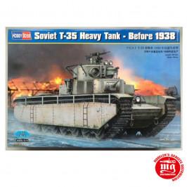 SOVIET T-35 HEAVY TANK BEFORE 1938 HOBBY BOSS 83842