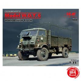 WWII BRITISH TRUCK MODEL W.O.T. 6 ICM 35507