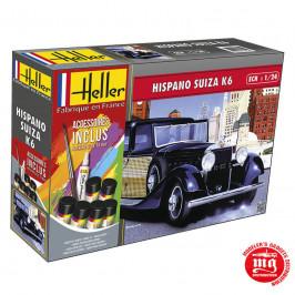 HISPANO SUIZA K6 STARTER SET HELLER 56704