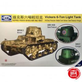 VICKERS 6-TON LIGHT TANK ALT B EARLY PRODUCTION CAMS CV35-007