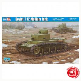 SOVIET T-12 MEDIUM TANK HOBBY BOSS 83887