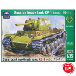 RUSSIAN HEAVY TANK KV-1 MODEL 1941 ARK 35020