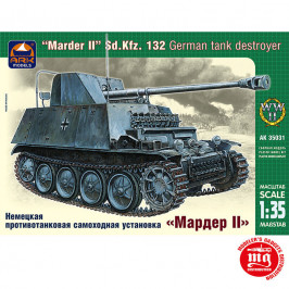 MARDER II Sd.Kfz. 132 GERMAN TANK DESTROYER ARK MODELS ARK 35031