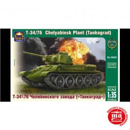 T-34/76 CHELYABINSK PLANT TANKOGRAD ARK MODELS AK 35042
