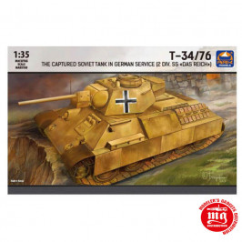 THE CAPTURED SOVIET TANK IN GERMAN SERVICE 2 DIVISION SS DAS REICH ARK MODELS AK 35041