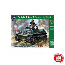 Pz Kpfw II Ausf D GERMAN LIGHT TANK ARK MODELS AK 35016