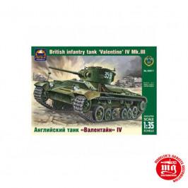 BRITISH INFANTRY TANK VALENTINE IV Mk.III ARK MODELS AK 35017