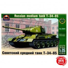 T-34-85 RUSSIAN MEDIUM TANK ARK MODELS AK 35001