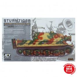 STURMTIGER 38 cm RW61 AUF STURMMORSER AFV CLUB AF48006 ESCALA 1:48