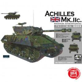 ACHILLES Mk.IIc. BRITISH 17 POUNDER ANTI TANK SELF PROPELLED GUN AFV CLUB AF35039