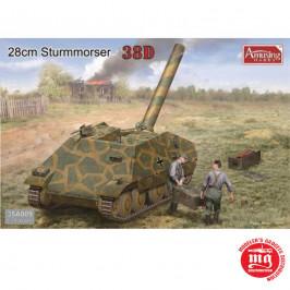 28 cm STURMMORSER 38 D AMUSING HOBBY 35A009