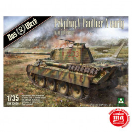 Pzkpfwg. V PANTHER A EARLY W/O INTERIOR DAS WERK DW35009