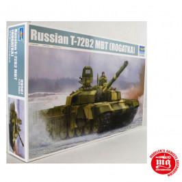 RUSSIAN T-72B2 MBT ROGATKA TRUMPETER 09507