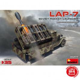 SOVIET ROCKET LAUNCHER LAP-7 MINIART 35277
