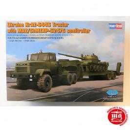 UKRAINE KrAZ-6446 TRACTOR WITH MAZ/ChMZAP-5247G SEMITRAILER HOBBY BOSS 85513