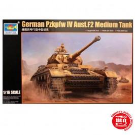 GERMAN Pzkpfw IV Ausf.F2 MEDIUM TANK TRUMPETER 00919