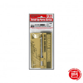 GERMAN HUMMEL METAL GUN BARREL TAMIYA 12688