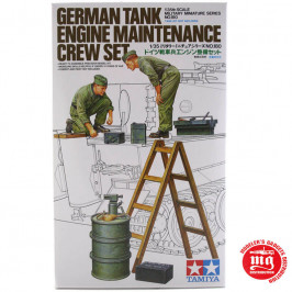 GERMAN TANK ENGINE MAINTENANCE CREW SET TAMIYA 35180