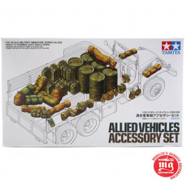 ALLIED VEHICLES ACCESORY SET TAMIYA 35229