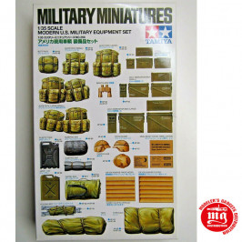 MODERN U.S. MILITARY EQUIPMENT SET TAMIYA 35266