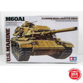 US MARINE M60A1 WITH REACTIVE ARMOR TAMIYA 35157