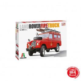 LAND ROVER FIRE TRUCK ITALERI 3660