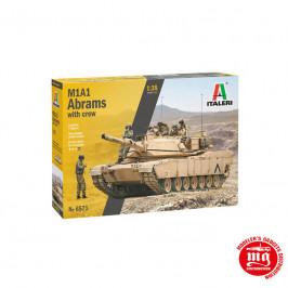 M1A2 ABRAMS WITH CREW ITALERI 6571