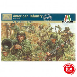 AMERICAN INFANTRY 2nd DIVISION ITALERI 6046