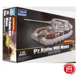 Pz.Kpfw.VIII MAUS WITH FULL INTERIOR DETAILS TRUMPETER 09541