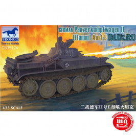 GERMAN PANZERKAMPFWAGEN II FLAMM AUSF.E Sd.Kfz.122 BRONCO CB35124