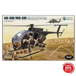 AH-6M/MH-6M LITTLE BIRD NIGHTSTALKERS KITTY HAWK KH50002