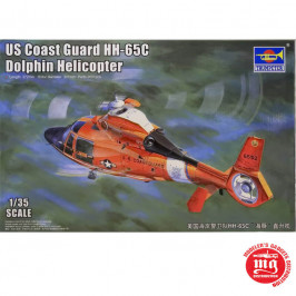 US COAST GUARD HH-65C DOLPHIN HELICOPTER TRUMPETER 05107