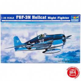 F6F-3N HELLCAT NIGHT FIGHTER TRUMPETER 02258