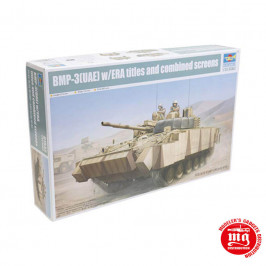 BMP-3 UAE WITH ERA TITLES AND COMBINED SCREENS TRUMPETER 01532