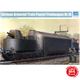 GERMAN ARMORED TRAIN PANZERTRIEBWAGEN Nr.16 TRUMPETER 00223