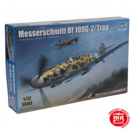 MESSERSCHMITT Bf 109G-2/TROP TRUMPETER 02295