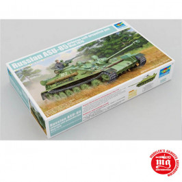 RUSSIAN ASU-85 AIRBORNE SELF-PROPELLED GUN MODEL 1970 TRUMPETER 01589