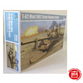 T-62 MODEL 1962 IRAQI REGULAR ARMY TRUMPETER 01548