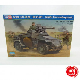 GERMAN Le.Pz.Sp.Wg Sd.Kfz.221 LEICHTER PANZERSPAHWAGEN EARLY HOBBY BOSS 83813