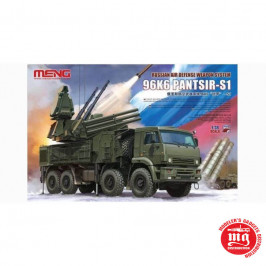RUSSIAN AIR DEFENSE WEAPON SYSTEM 96K6 PANTSIR-S1 MENG SS-016