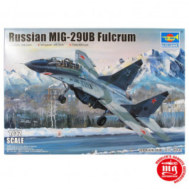 RUSSIAN MIG-29UB FULCRUM TRUMPETER 03226