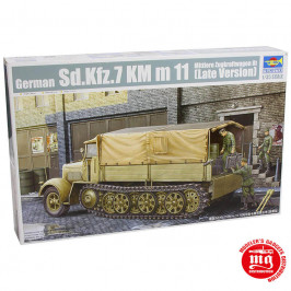 GERMAN Sd.Kfz.7 KM m 11 MITTLERE ZUGKRAFTWAGEN 8t LATE VERSION TRUMPETER 01507