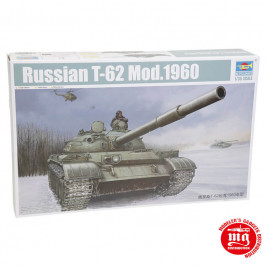 RUSSIAN T-62 MODEL 1960 TRUMPETER 01546