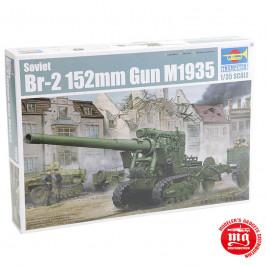 SOVIET Br-2 152mm GUN M1935 TRUMPETER 02338